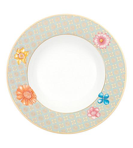 VILLEROY u0026 BOCH Aureus blossom porcelain plate 24cm  sc 1 st  Selfridges & VILLEROY u0026 BOCH - Aureus blossom porcelain plate 24cm | Selfridges.com