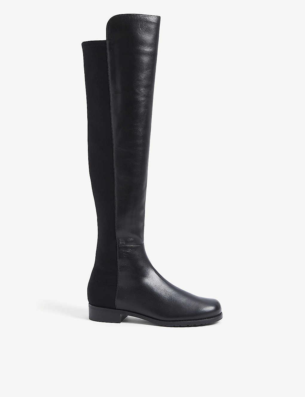 Boots for Women, Booties On Sale, Light Grey, suede, 2017, 2.5 3 3.5 4 4.5 Stuart Weitzman