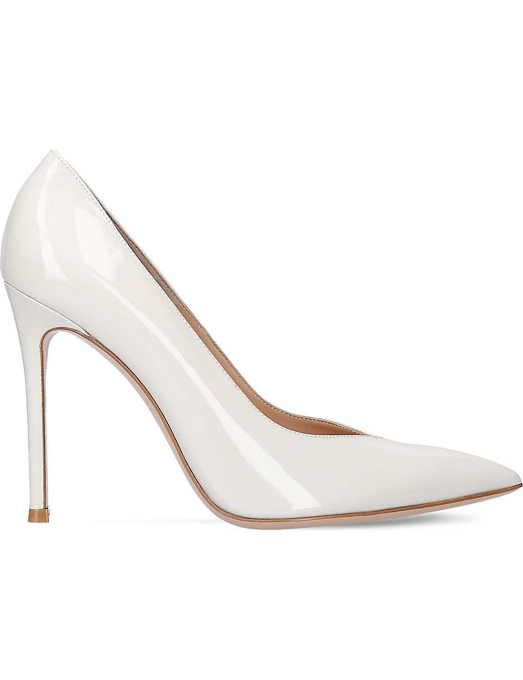 ae1df68fe74 GIANVITO ROSSI - Paris 105 patent-leather court shoes
