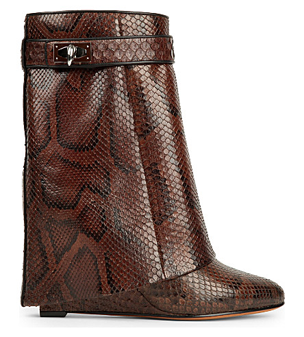 Givenchy Python Boots Sale View Outlet Extremely Discount Collections Stockist Online Popular Sale Online MdHFEqFV