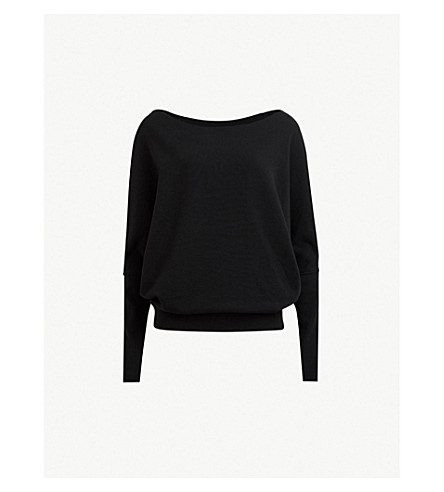 Allsaints Ridley Cotton Sweater Selfridgescom