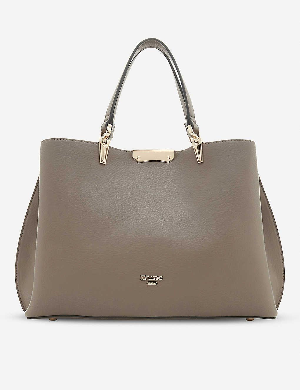 1592e503d95e DUNE - Darrow faux-leather tote bag