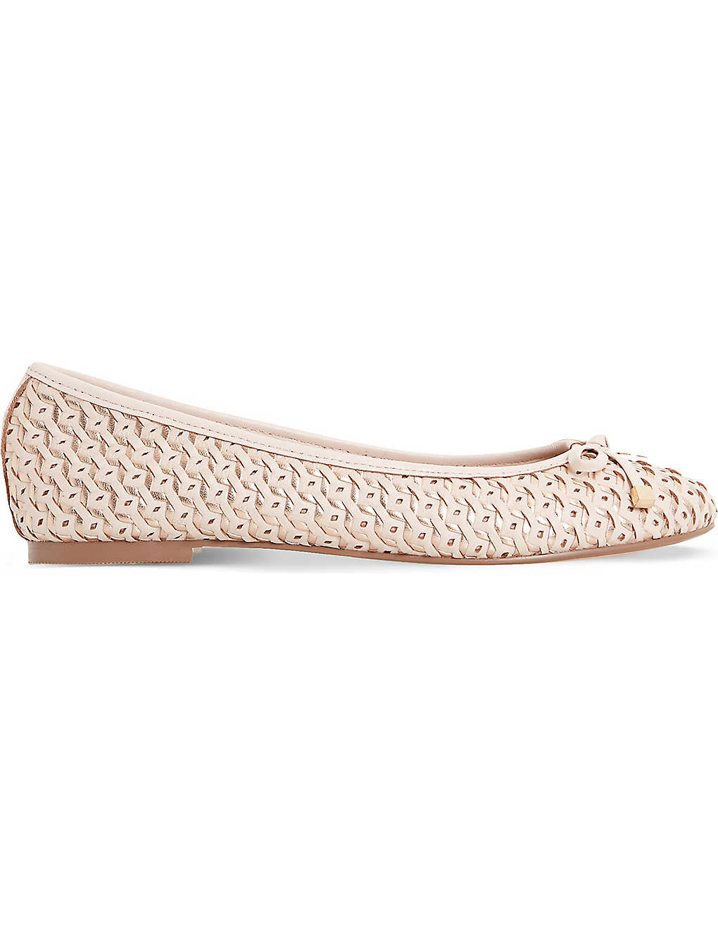 e14399a5f55 DUNE - Hobbi woven leather ballet flats