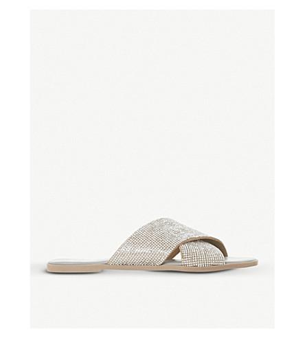 Nevadaa Diamanté Strap Sandals by Dune