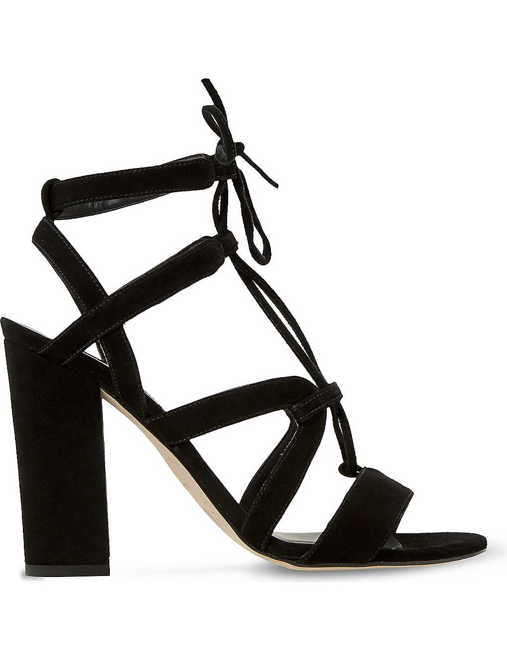3acf4b3692ad DUNE - Marlow suede heeled sandals