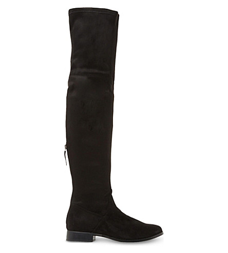 Steve Madden ODESSA - Over-the-knee boots - black 7MT2g4
