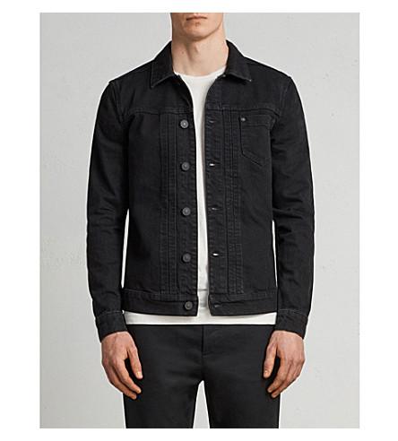 Bajio Regular Fit Denim Jacket by Allsaints