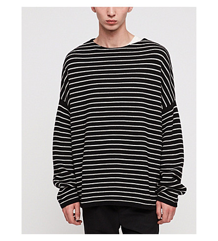Marty Striped Knitted Sweater by Allsaints
