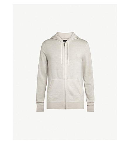 Mode Merino Wool Hoody by Allsaints