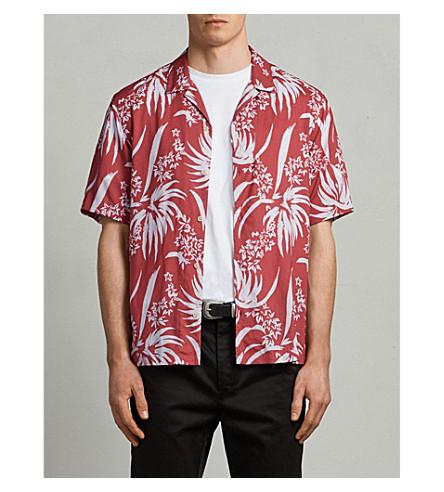 Koloa Classic Fit Woven Shirt by Allsaints