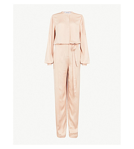 Regina Crepe Jumpsuit by Reiss