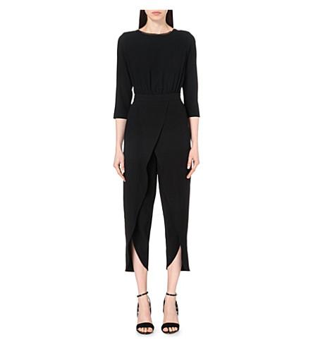 1a489a21747 ... REISS Flo crepe jumpsuit (Black. PreviousNext