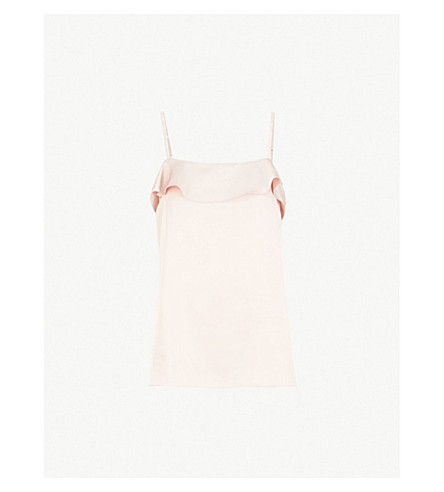 Jessica Satin Top by Reiss