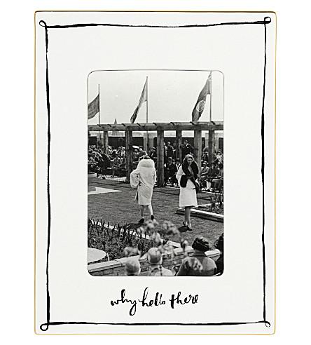 KATE SPADE - Daisy place porcelain photograph frame | Selfridges.com