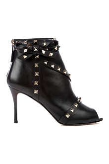 VALENTINO Rockstud studded leather ankle boots