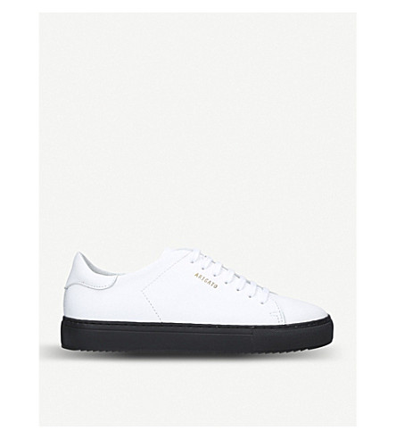 AXEL ARIGATO Clean 90 leather trainers (White/blk