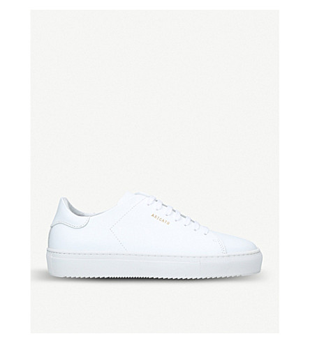 AXEL ARIGATO Clean 90 leather trainers (White