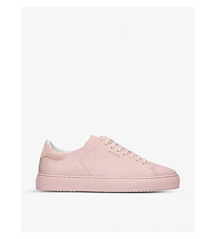 AXEL ARIGATO Clean 90 leather trainers (Pale+pink