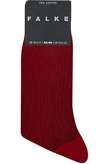 FALKE Fine shadow stripe socks