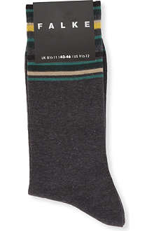 FALKE Top-striped socks