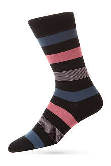FALKE Mixed-stripe socks