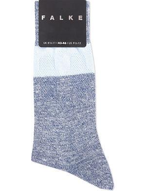 FALKE Henna cotton-linen socks