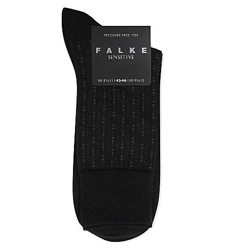 FALKE Sensitive wool socks (Blk