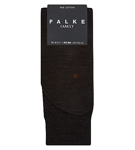 FALKE Berlin sensitive wool socks (Brown