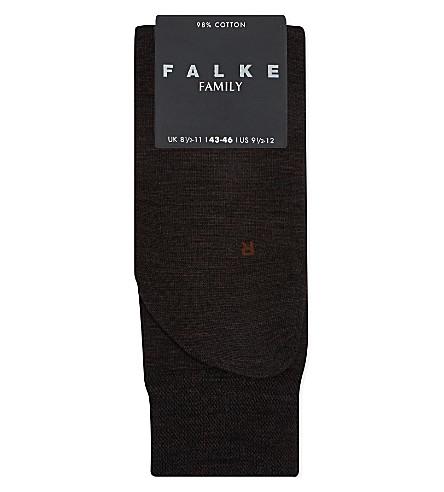 FALKE 柏林敏感羊毛袜子 (棕色