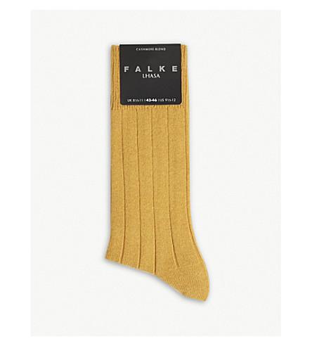 FALKE Lhasa wool-cashmere socks (Amber
