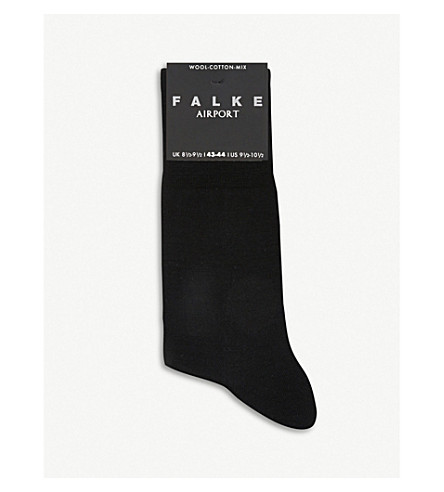 FALKE Airport socks (Black