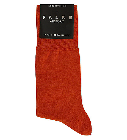 FALKE Airport socks (Brick