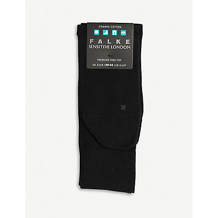 FALKE London sensitive socks (Black