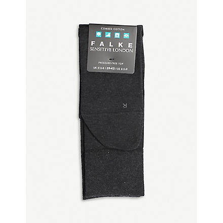 FALKE London sensitive socks (Charcoal