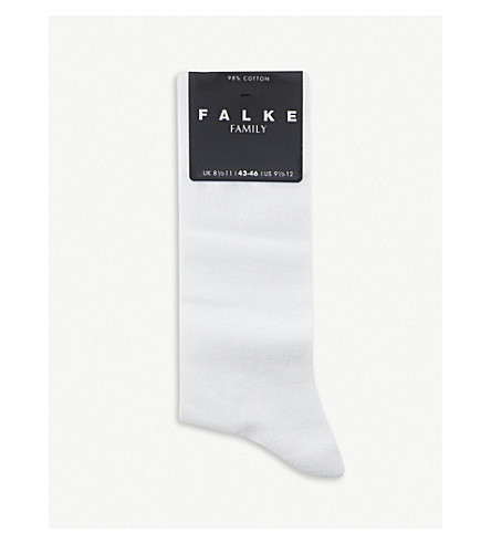 FALKE Family socks (White