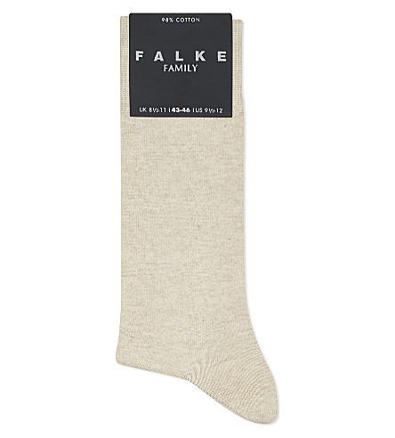 FALKE Family socks (Sand