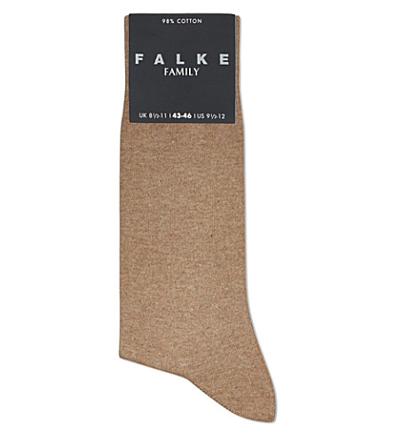 FALKE Family socks (Nutmeg
