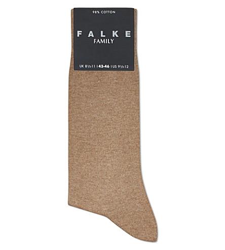 FALKE Family socks (Nutmeg