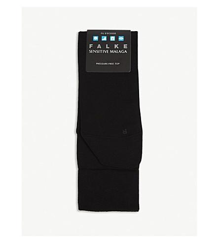 FALKE Sensitive Malaga fil d'Ecosse socks (Black