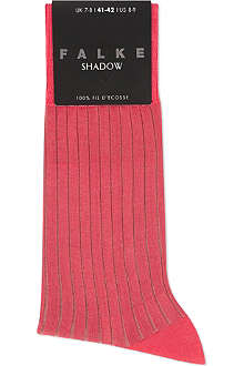 FALKE Shadow ribbed socks