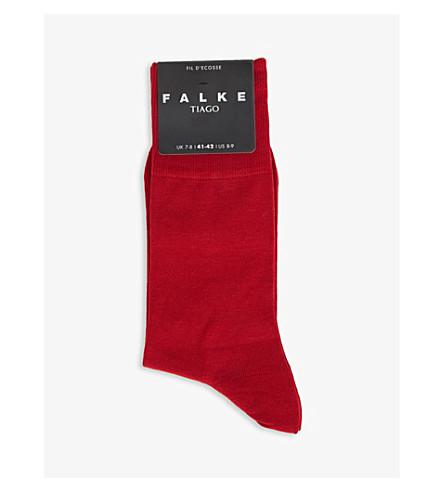 socks blend blend FALKE FALKE socks Tiago Red Tiago Red cotton FALKE cotton IpaIZw