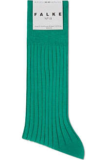 FALKE Luxury ribbed socks