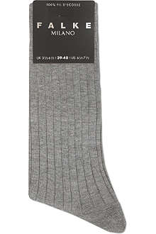 FALKE Milano ribbed socks
