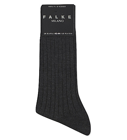 FALKE Milano socks (Anthracite
