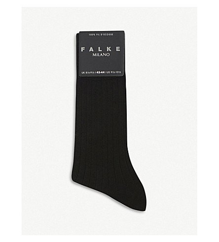 Calcetines FALKE FALKE Calcetines Milano Milano Negros Negros nqRHxqfwW