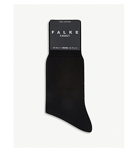 FALKE Firenze socks (Black