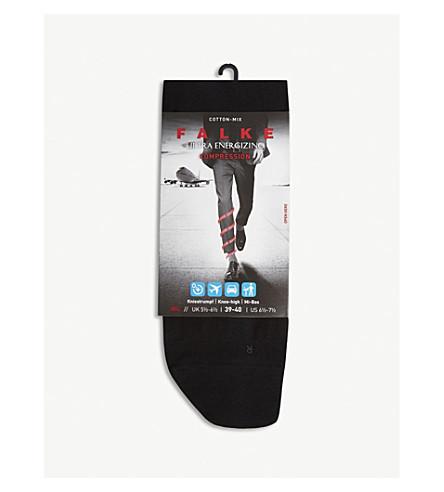 FALKE Energising support socks (Black