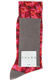 FALKE Pixelated square socks