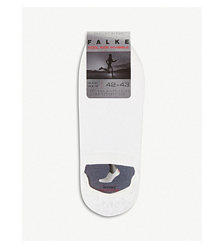 FALKE Cool kick invisible socks (White