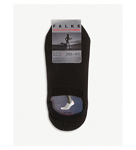 FALKE Cool kick invisible socks (Black